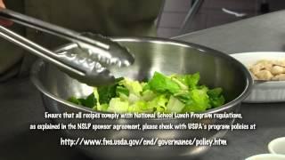 Make Half The Tray Fruits And Vegetables- Michigan Salad