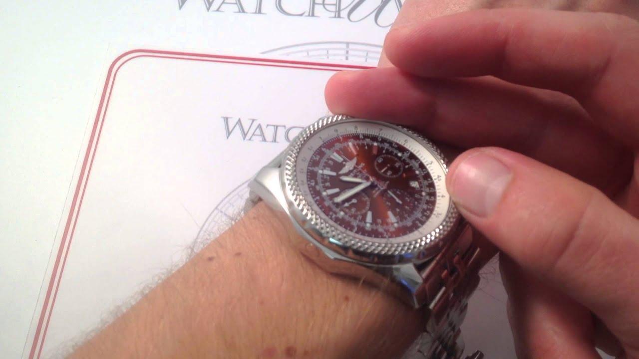 bentley watch breitling special steel edition i gmt motors chrono
