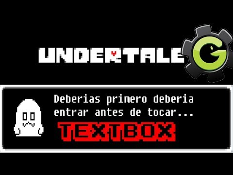 Textbox Estilo Undertale Avanzado Game Maker