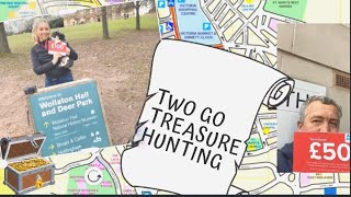 TWO GO TREASURE HUNTING - Tanya Louise