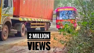 PRIVATE BUS EXTREM SKILL OVERTAKING ( MAD DRIVERS )
