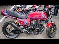 HONDA CB900F RED Custom Bike