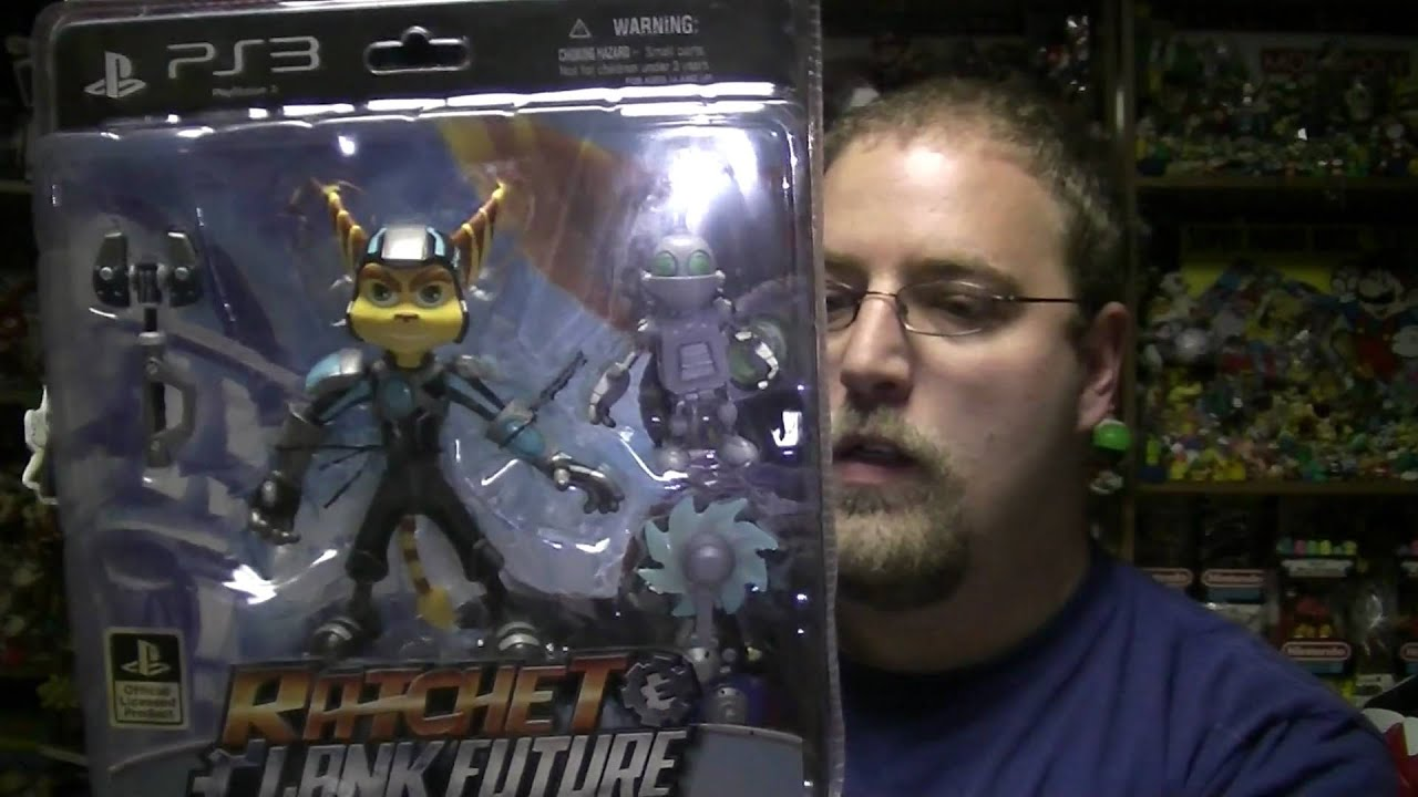 Ratchet And Clank Series 2 Figures Youtube