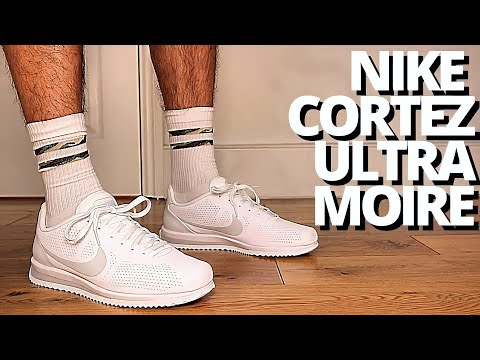 Nike Cortez Ultra Moire White Platinum On Foot Review