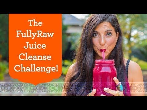 7-Day FullyRaw Juice Cleanse Challenge! Join Now!