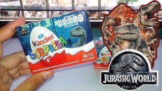 Review | Huevos Kinder Sorpresa de Jurassic World: Fallen Kingdom