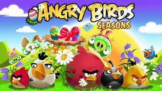 The old version of Angry Birds Seasons (v3.1.1)