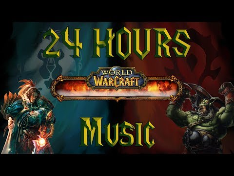 24 HOURS Most Epic World Of Warcraft  Mix  One Day Of Study And Work Playlist