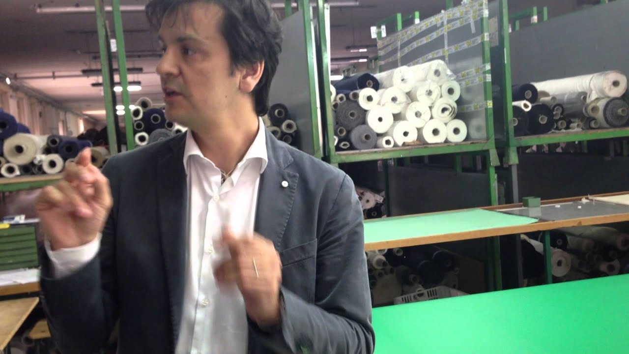 Tour of lubiam factory in mantova italy youtube for Benedini mantova