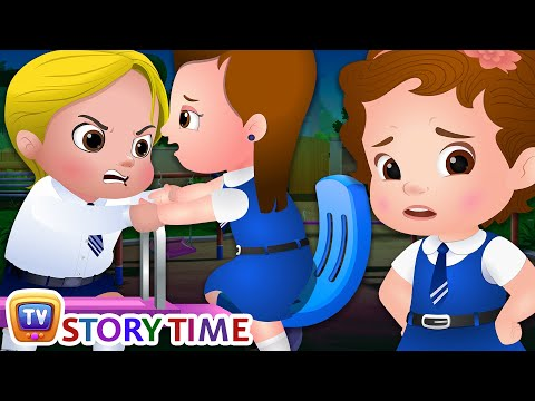 Cussly in the Playground - Good Habits Bedtime Stories & Moral Stories for Kids - ChuChu TV