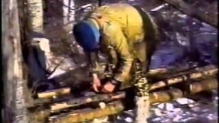 Mors Kochanski Lean-to Shelter Part 1 Of 3
