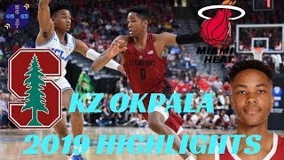 KZ Okpala Stanford Cardinals 2019 Highlights  First Team All-Pac-12  Miami Heat Rookie