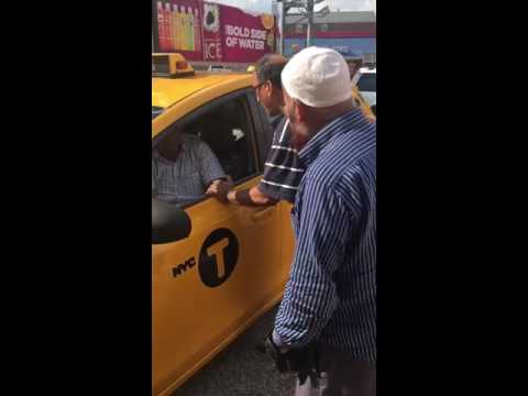 NYC yellow cab drama