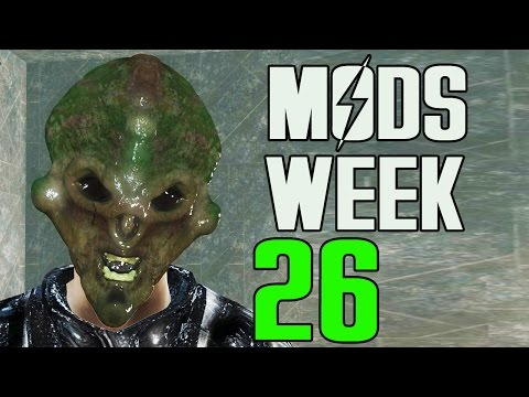 FALLOUT 4 MODS - WEEK #26: Gods, Tactical Weapons, Forests & More!