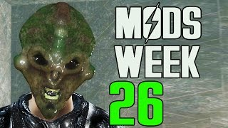 FALLOUT 4 MODS - WEEK 26 Gods, Tactical Weapons, Forests More
