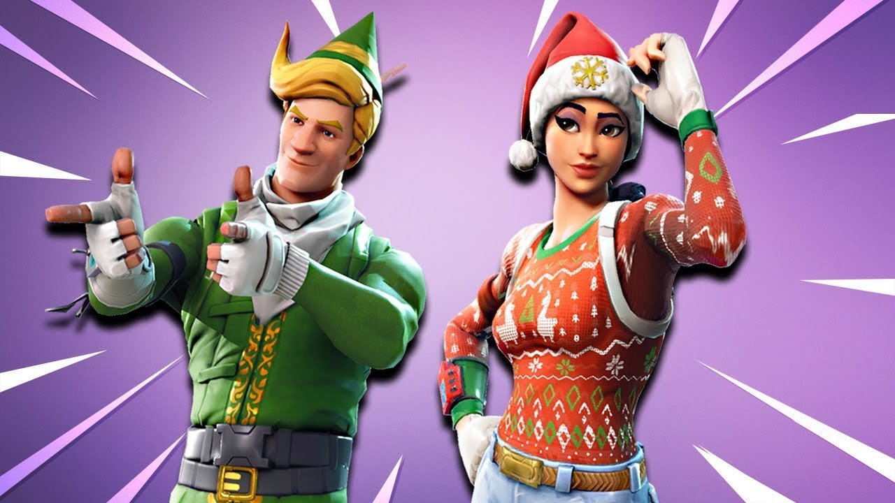 Christmas Skins Returning In Fortnite Youtube