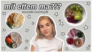 mit ettem ma!! / anorexia recovery!