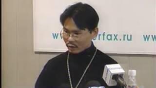 Сюжет о пресс-конференции с Т.С. Шороховой в Иркутске. 2005 год. АС Байкал ТВ.