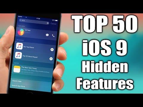 TOP 50 iOS 9 Hidden Features