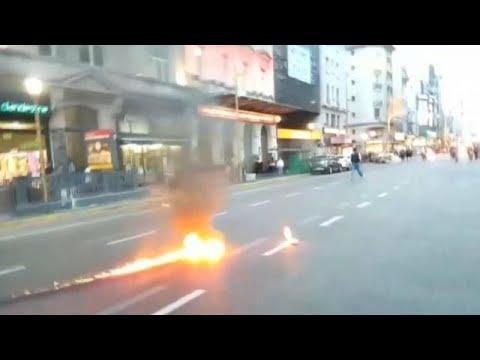 WTO-csúcs: csatatérré változott Buenos Aires
