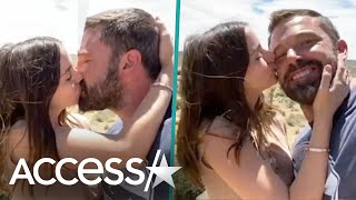 Ben Affleck & Ana De Armas Kiss In Residente Music Video