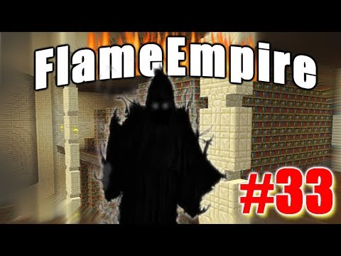 DARKNESS IN THE WORLD OF LIBRARIES | FlameEmpire #33 | Minecraft Gameplay