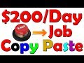 watch he video of Copy and Paste System Makes $200 A Day With ONE Simple Online TRICK In Urdu/Hindi