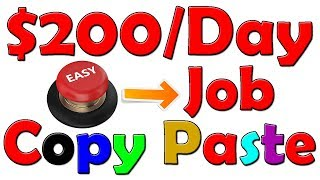 Copy and Paste System Makes $200 A Day With ONE Simple Online TRICK In Urdu/Hindi
