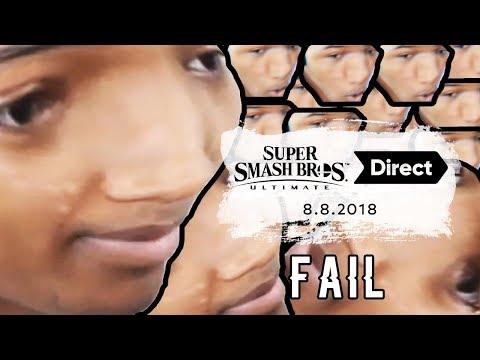 Etika's Smash Ultimate Direct Stream Disaster