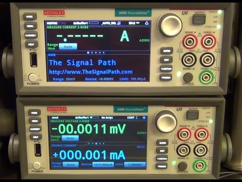 TSP #36 - Keithley 2450 Source Measure Unit (SMU) Review and Experiments