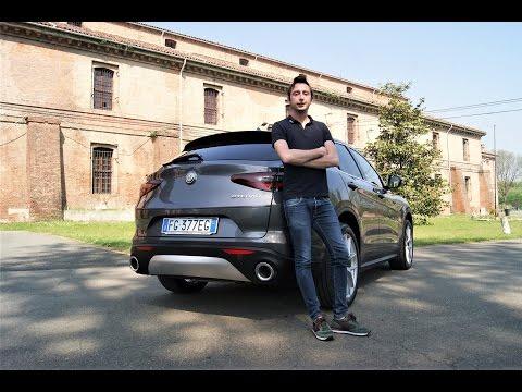 Alfa Romeo Stelvio 2.2 diesel - Prova su strada - Test drive - ITA