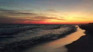 Fall Beach Sunset on 30A