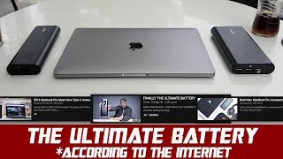 Anker PowerCore+ vs MacBook Pro | THE ULTIMATE BATTERY?
