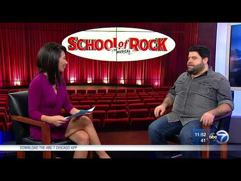 School of Rock The Musical opens at Cadillac Palace Theatre