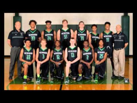BMCHS Boys Basketball WarmUp 2016