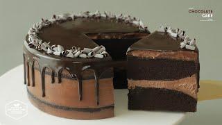 초콜릿 케이크 with 스위스 머랭 버터크림 만들기 :…