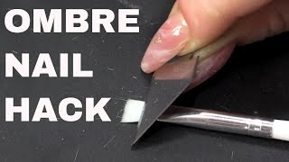 How to Make and Ombre Brush & Three Colour Ombre using Gel Polish -