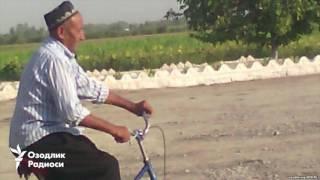 75 га кирган пенсионер Каримов қабри устида Қуръон ўқиш учун Самарқандга велосипедда жўнаб кетди