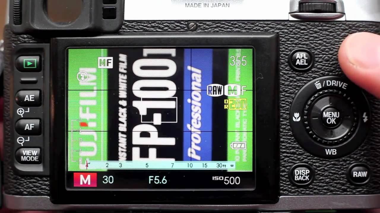 fujifilm finepix x100 af assist in manual focus youtube rh youtube com Fujifilm FinePix X100 Accessories Fujifilm FinePix S4200