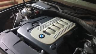 Замена масла и фильтров на BMW e65 M57n2 Часть 1!