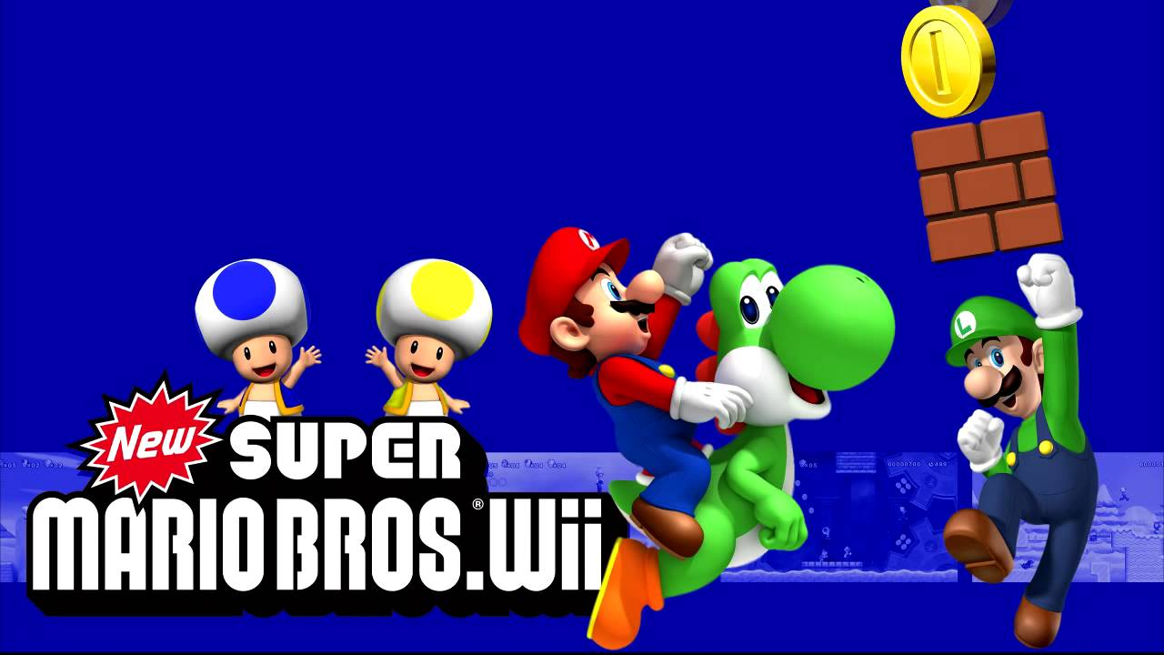 Amazon.com: new super mario bros wii game