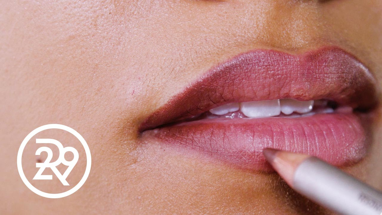How To Contour Your Lips  Refinery29