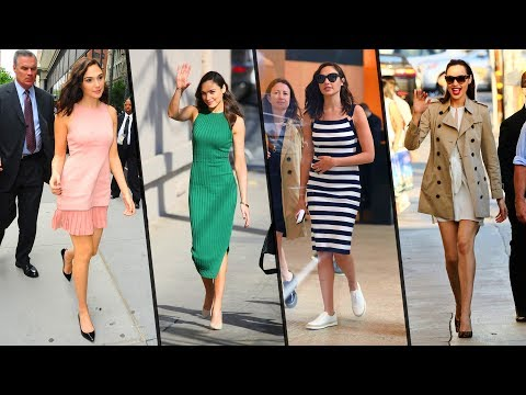 Wonder Woman's Real Life Street Styles, Casual Styles and Hairstyles - Gal Gadot
