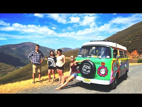 1 guy, 3 girls, 6 weeks and 10,000 miles = Road Trip in a VW Bus (2014)