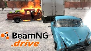BeamNG drive - Demolition Derby with AI! - BeamNG drive Mod Gameplay