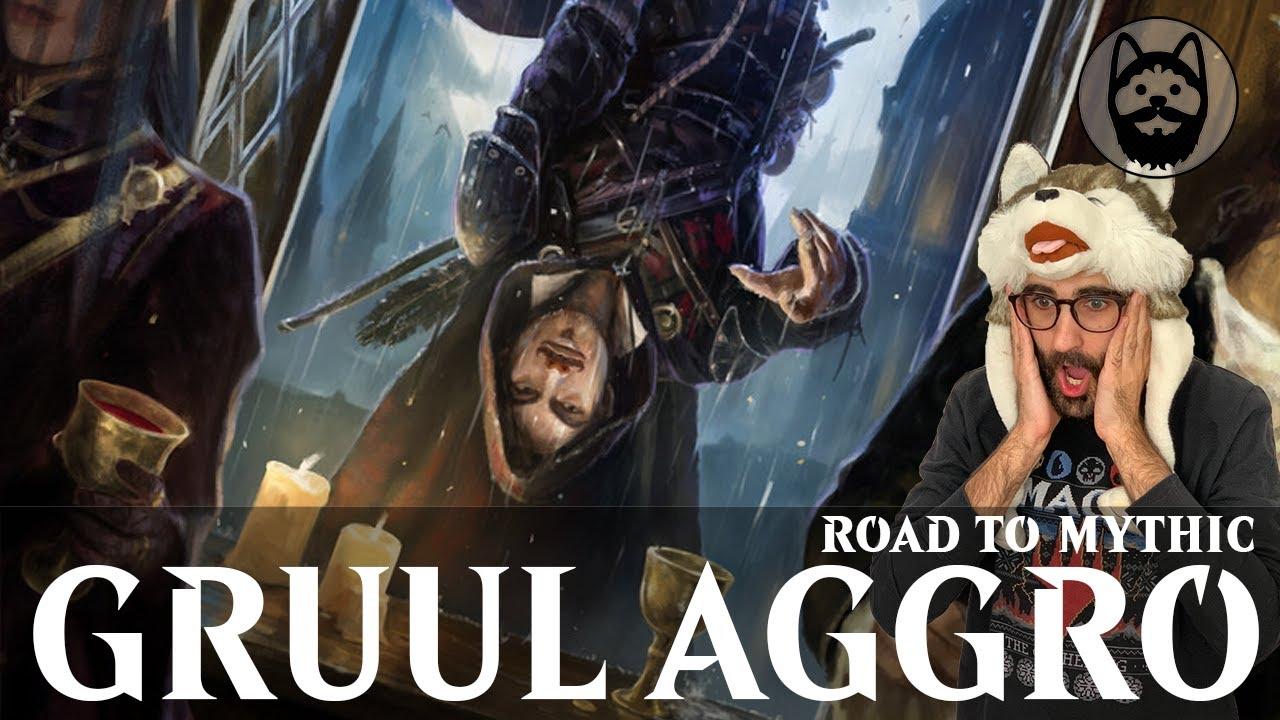🐺 GRUUL AGGRO Bo3 en Road to Mythic