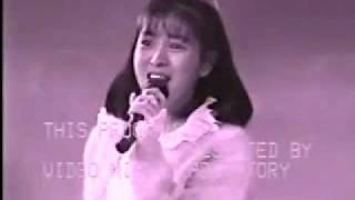 銀座三越屋上の「森の劇場」で西村知美ちゃんが、「眠り姫」のキャンペ...