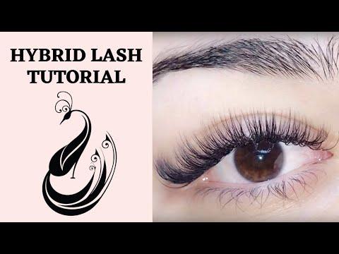 Hybrid Eyelash Extension Tutorial C & D Curl | Is it OK to mix curls? | Eyelash Extensions 101