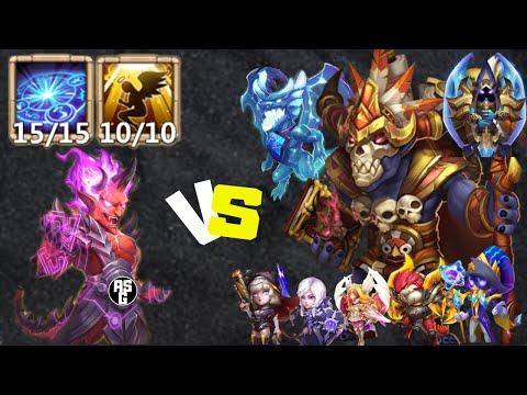 Rune Master   Skill 15   Game-play   Vs Legends   Castle Clash