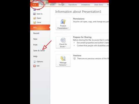 Cara Simpan File PowerPoint Menjadi Video dengan mudah dan cepat